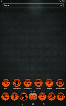 Orange Icon Pack Style 1 v2.0 apk screenshot