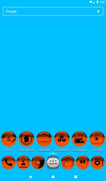 Orange Icon Pack Style 1 v3.0 Free screenshot 16