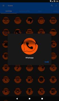 Orange Icon Pack Style 1 v3.0 Free screenshot 19
