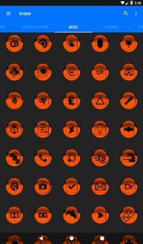 Orange Icon Pack Style 1 v3.0 Free screenshot 23