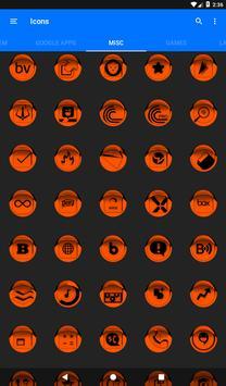 Orange Icon Pack Style 1 v3.0 Free screenshot 21