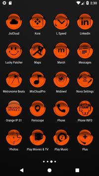 Orange Icon Pack Style 1 v3.0 Free screenshot 3