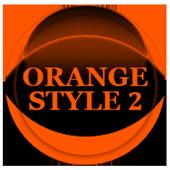 Orange Icon Pack Style 2 v2.0 icon
