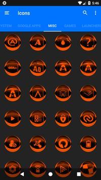 Orange Icon Pack Style 2 v2.0 screenshot 6