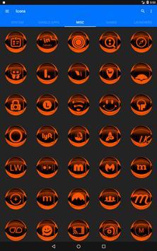 Orange Icon Pack Style 2 v2.0 screenshot 10