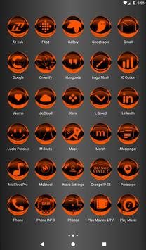 Orange Icon Pack Style 2 v2.0 screenshot 17