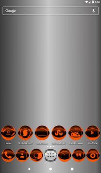 Orange Icon Pack Style 2 v2.0 screenshot 15