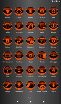 Orange Icon Pack Style 2 v2.0 screenshot 16