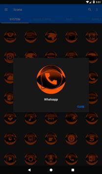 Orange Icon Pack Style 2 v2.0 screenshot 18