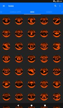 Orange Icon Pack Style 2 v2.0 screenshot 19