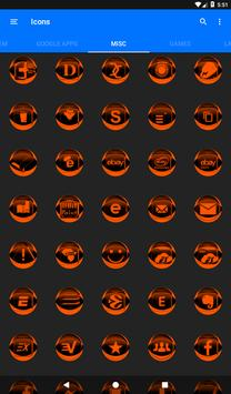 Orange Icon Pack Style 2 v2.0 screenshot 20