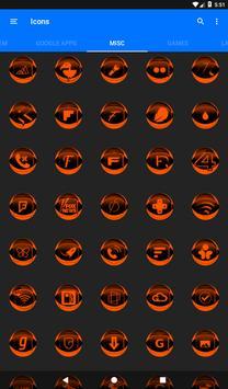 Orange Icon Pack Style 2 v2.0 screenshot 21