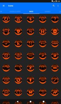 Orange Icon Pack Style 2 v2.0 screenshot 22