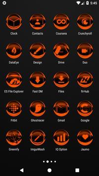 Orange Icon Pack Style 2 v2.0 screenshot 2