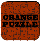 Orange Puzzle Icon Pack icon