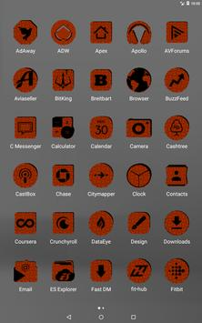 Orange Puzzle Icon Pack screenshot 9