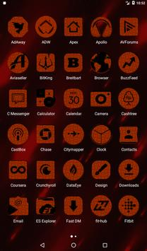 Orange Puzzle Icon Pack screenshot 17