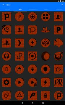 Orange Puzzle Icon Pack screenshot 14