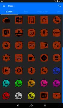 Orange Puzzle Icon Pack screenshot 19