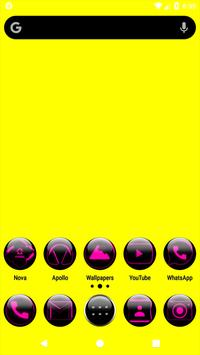 Pink Glass Orb Icon Pack v4.0 Free poster