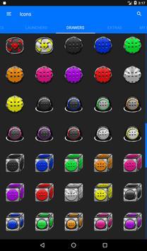 Pink Glass Orb Icon Pack v4.0 Free apk screenshot