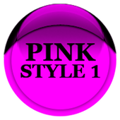 Pink Icon Pack Style 1 v3.0 Free icon