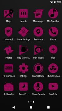Pink Puzzle Icon Pack screenshot 3