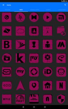 Pink Puzzle Icon Pack screenshot 14