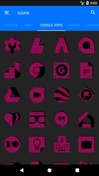 Pink Puzzle Icon Pack screenshot 6