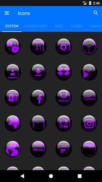 Purple Glass Orb Icon Pack v2.2 screenshot 4