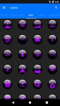 Purple Glass Orb Icon Pack v2.2 screenshot 6
