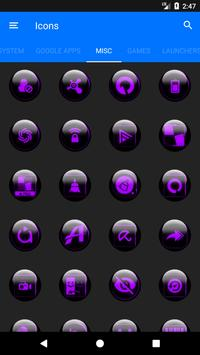 Purple Glass Orb Icon Pack v3.0 screenshot 7