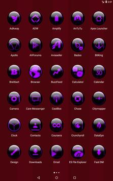 Purple Glass Orb Icon Pack v3.0 screenshot 9