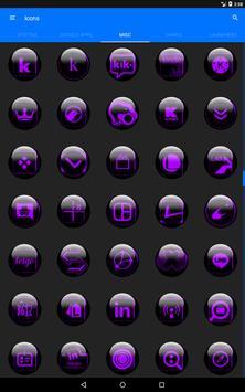 Purple Glass Orb Icon Pack v2.2 screenshot 13