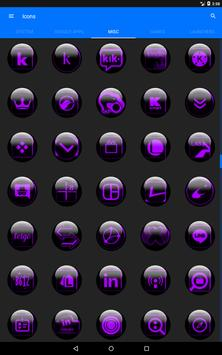 Purple Glass Orb Icon Pack v3.0 screenshot 13