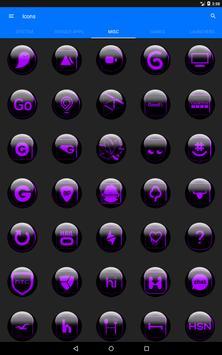 Purple Glass Orb Icon Pack v2.2 screenshot 11