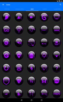Purple Glass Orb Icon Pack v3.0 screenshot 11