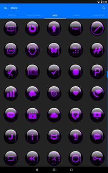 Purple Glass Orb Icon Pack v2.2 screenshot 12