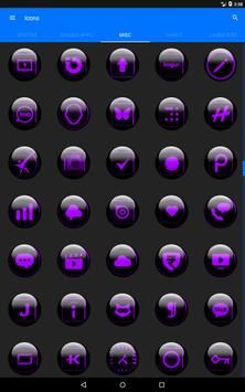 Purple Glass Orb Icon Pack v3.0 screenshot 12