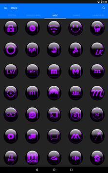 Purple Glass Orb Icon Pack v2.2 screenshot 14