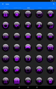 Purple Glass Orb Icon Pack v3.0 screenshot 14