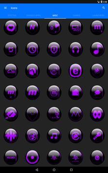 Purple Glass Orb Icon Pack v2.2 screenshot 15