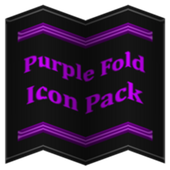 Purple Fold Icon Pack v4.0 Free icon