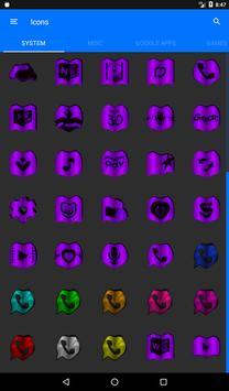 Purple Fold Icon Pack v3 screenshot 19