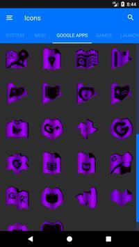 Purple Fold Icon Pack v3 screenshot 7
