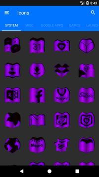 Purple Fold Icon Pack v3 screenshot 4