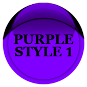 Purple Icon Pack Style 1 v3.0 Free icon