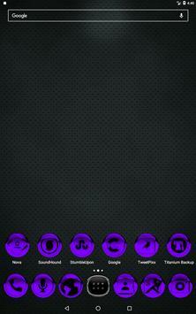 Purple Icon Pack Style 1 v2.0 apk screenshot