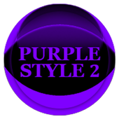 Purple Icon Pack Style 2 v3.0 Free icon