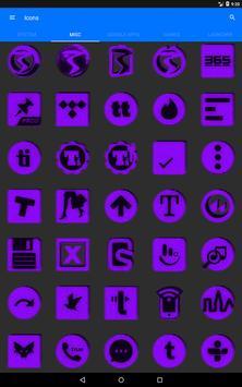 Purple Noise Icon Pack screenshot 15